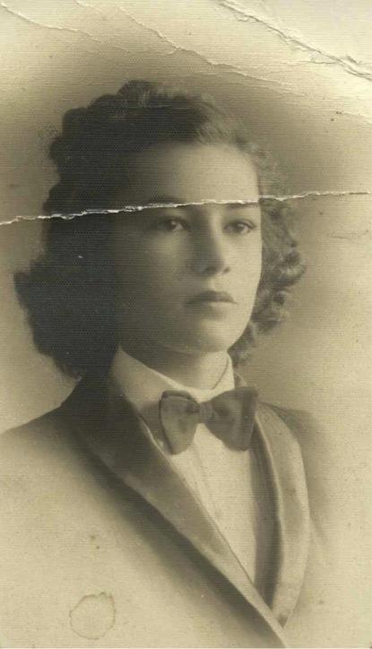 Maria Aparecida Nogueira da Costa - Jovem
